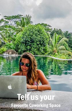 digital nomads suggest coworking